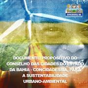 Documento propositido do Concidades/Ba para a Rio+20