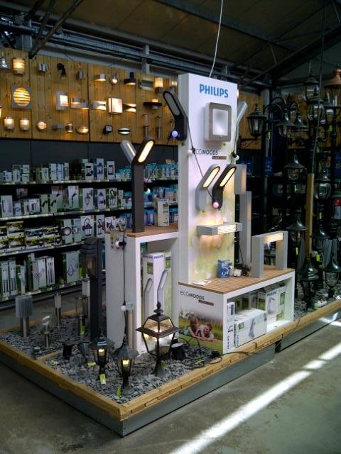 intratuin tuinverlichting philips tuinverlichting shop in shop de keizer instore