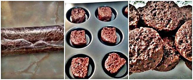 Preparación de las bizco-galletas de yogur y cacao
