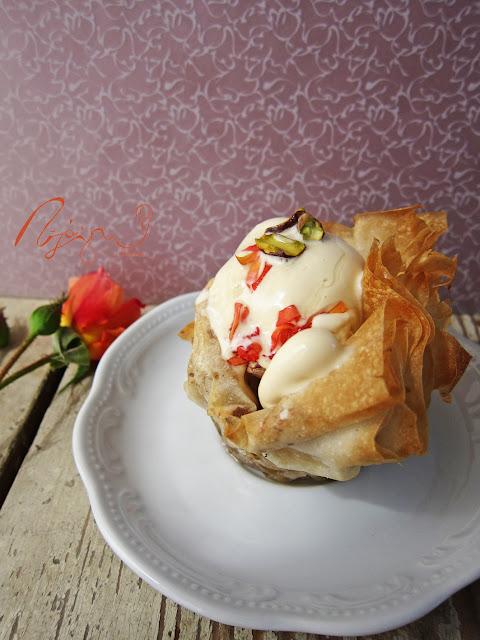 VKF 50. – Rózsaszörp + Rózsás baklava fagyi