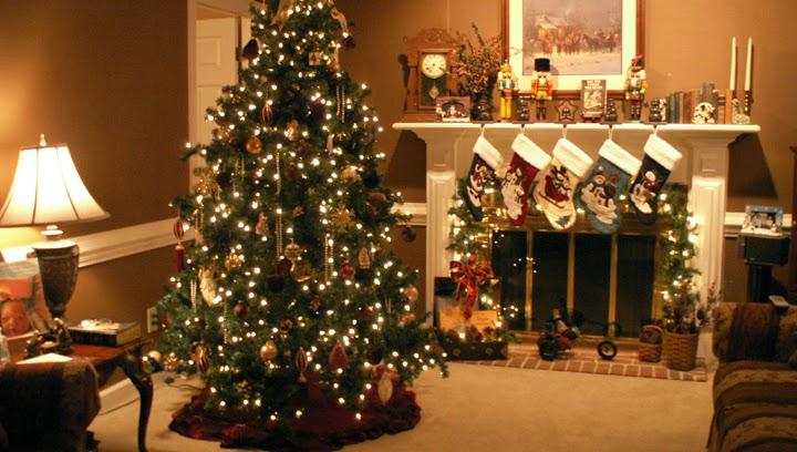 Το τζάκι τα Χριστούγεννα!