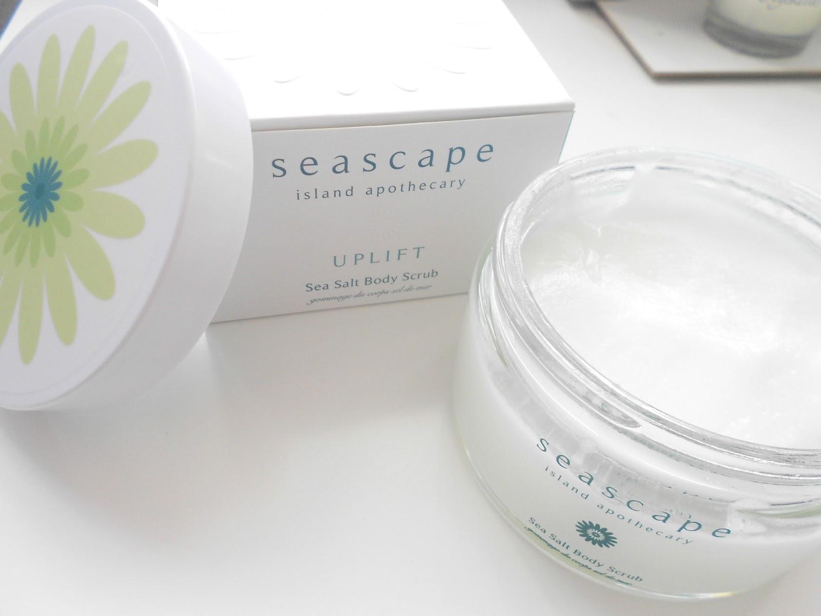 seascape seasalt body scrub review