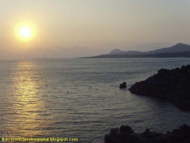 sunset korea