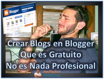 Ropiendo paradigmas con blogger