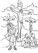 Dibujos de Jesus para Colorear dibujo de jesus para colorear imprimir
