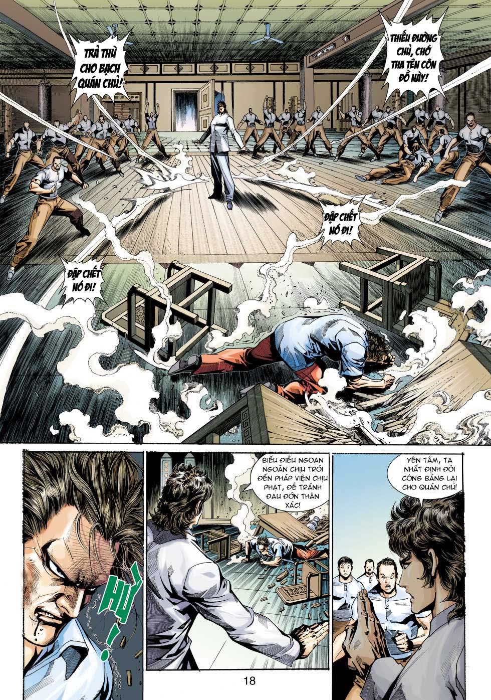Tân Tác Long Hổ Môn chap 343 - Trang 18