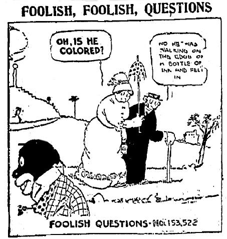 Screwball Comics: Say, Are You Looking At A Computer? Rube Goldbergu0027s  Foolish Questions