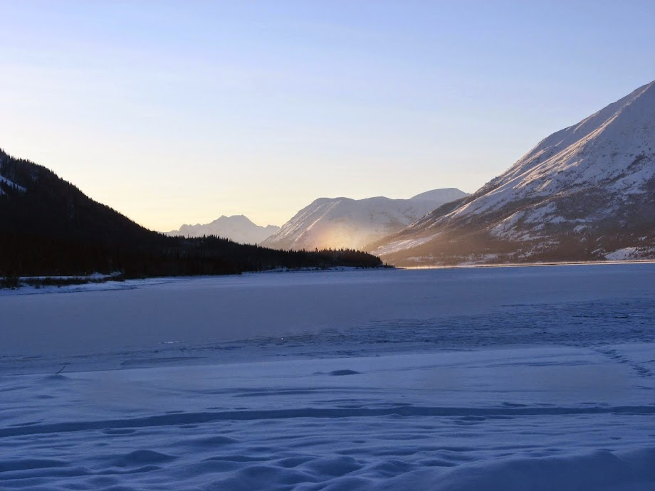 Winter in the Yukon