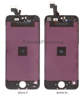 Comparación de pantalla entre el iPhone 5 y 5S