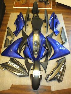 Yamaha Yzfr Plastics