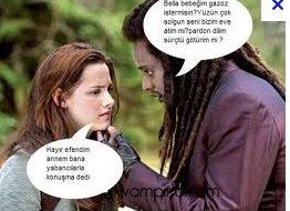 Twilight ünlüleri Komik New Moon