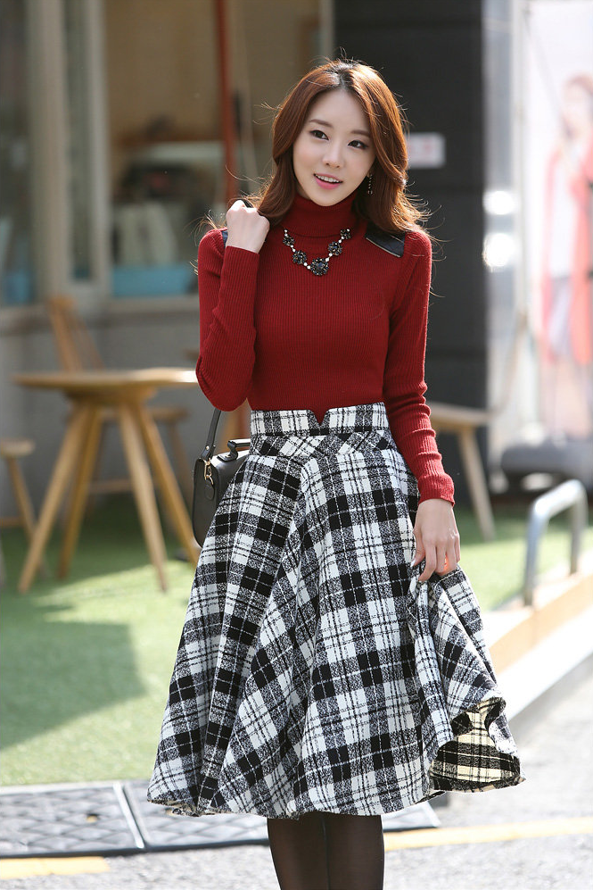 Moda coreana 2016 juvenil mujeres - Modelos de faldas de moda ...