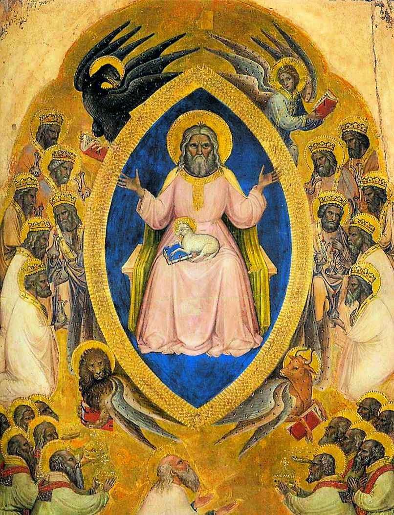 Poliptico do Apocalipse, detalhe. Jacobello Alberegno (... – 1397)