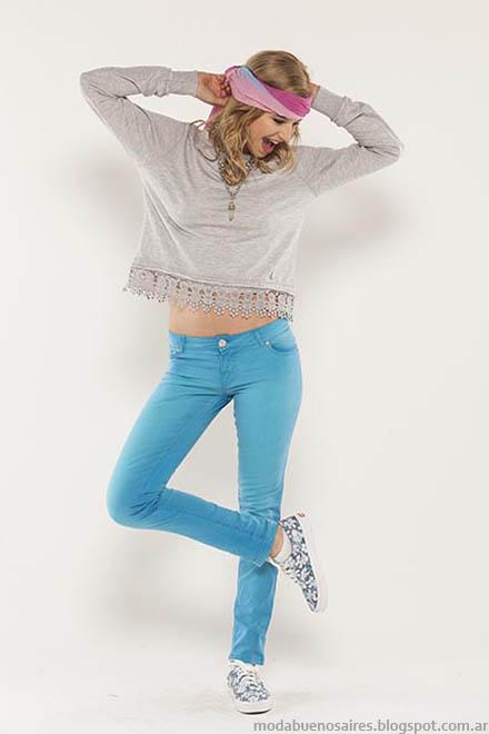 Looks moda verano 2015 Doll Fins.