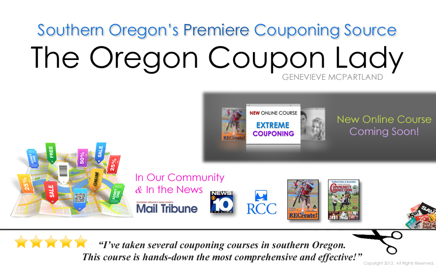 Oregon Coupon Lady