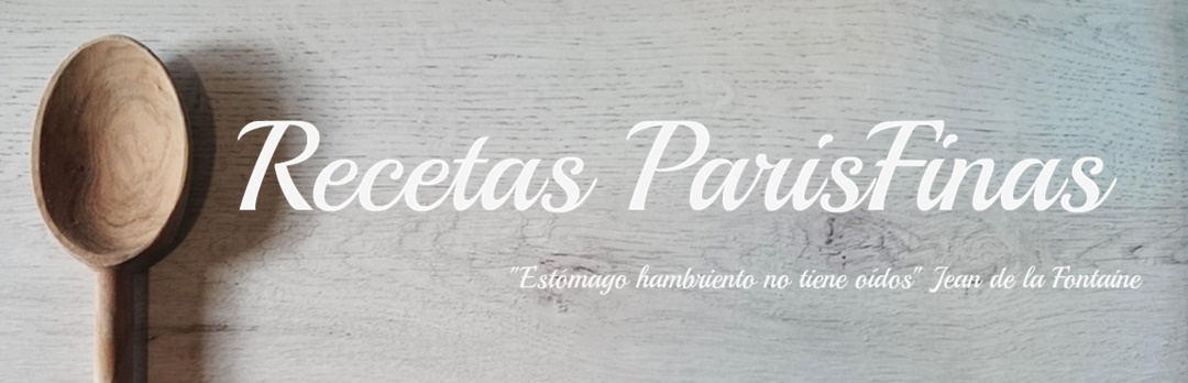 Recetas ParisFinas