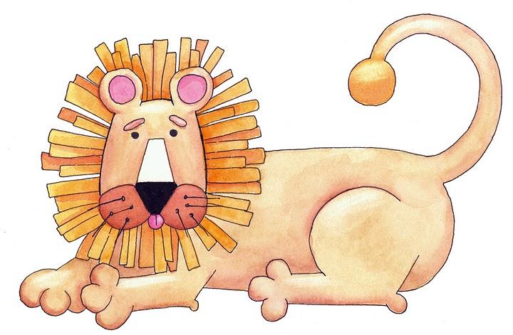 Dibujos coloreados animales selva - Imagenes y dibujos para imprimir