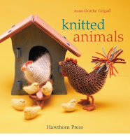 Hinterland Mama: Knitting a gift ~ Bs Kitten Cat, using cotton