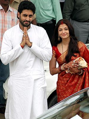 Abhishek bachchan on wedding day