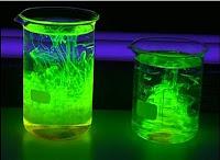 Reacción Fluorescente