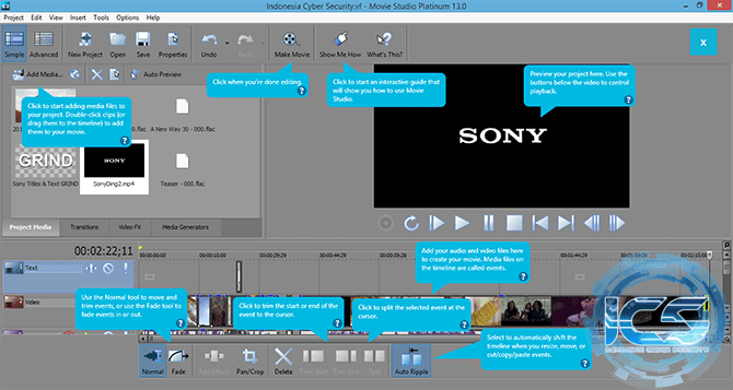 sony movie studio 13 platinum +keygen 2014