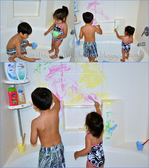 Make your own bath tub paint