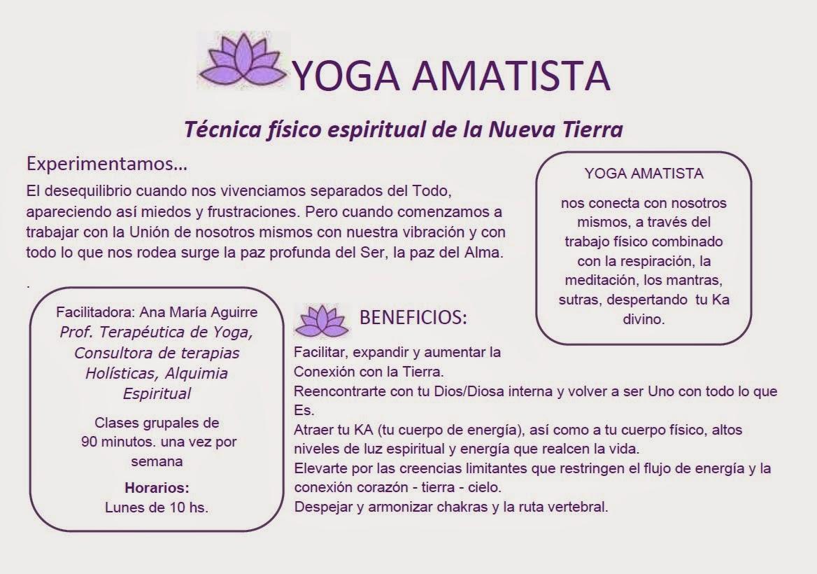 Un espacio para el alma yoga amatista - Espacio para el yoga ...