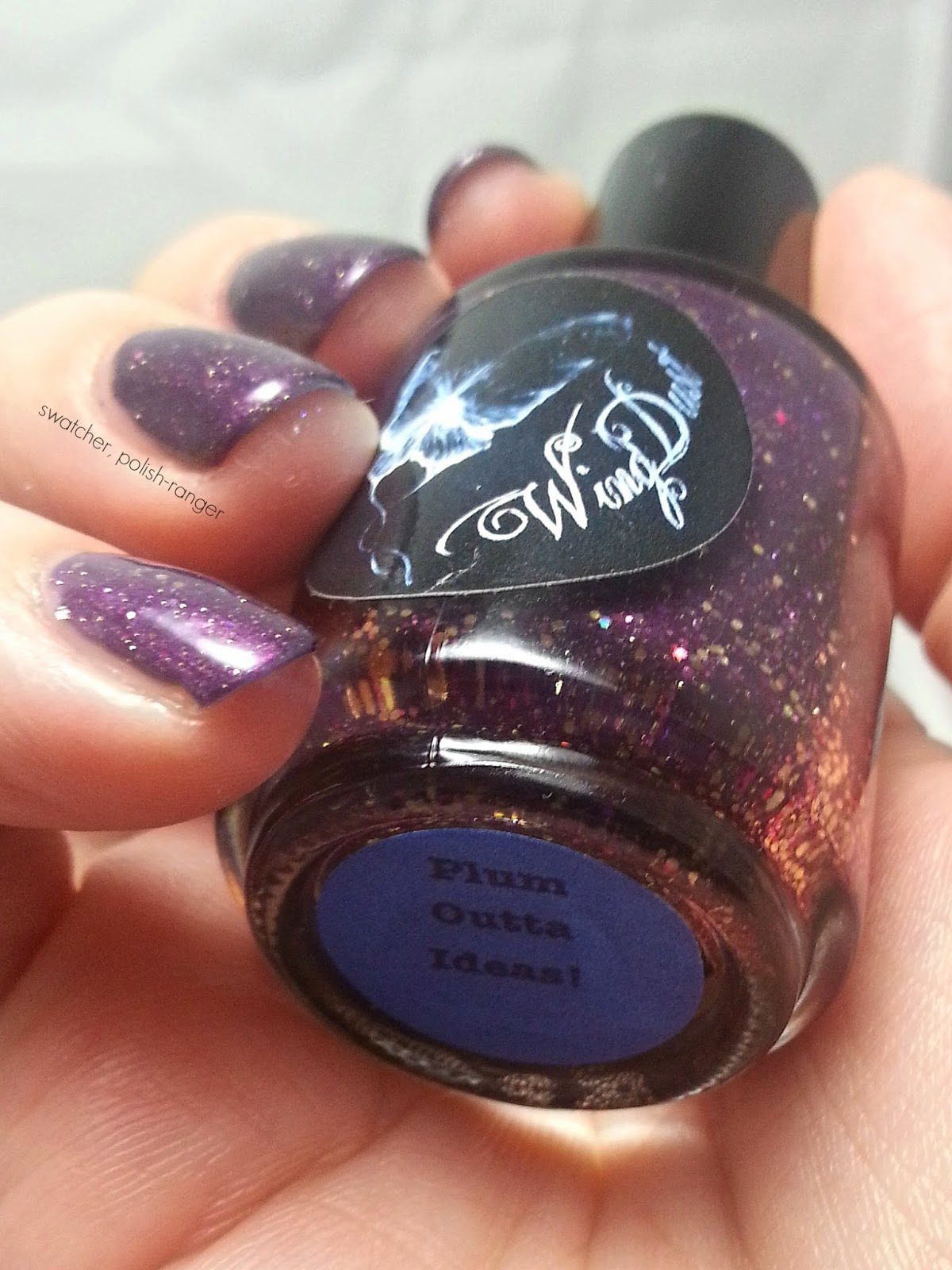 Wingdust Collections Plum Outta Ideas swatch