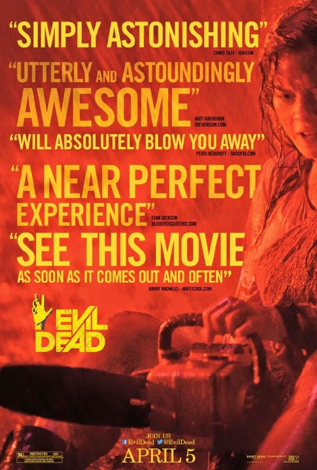La película Evil Dead ( Posesión infernal )