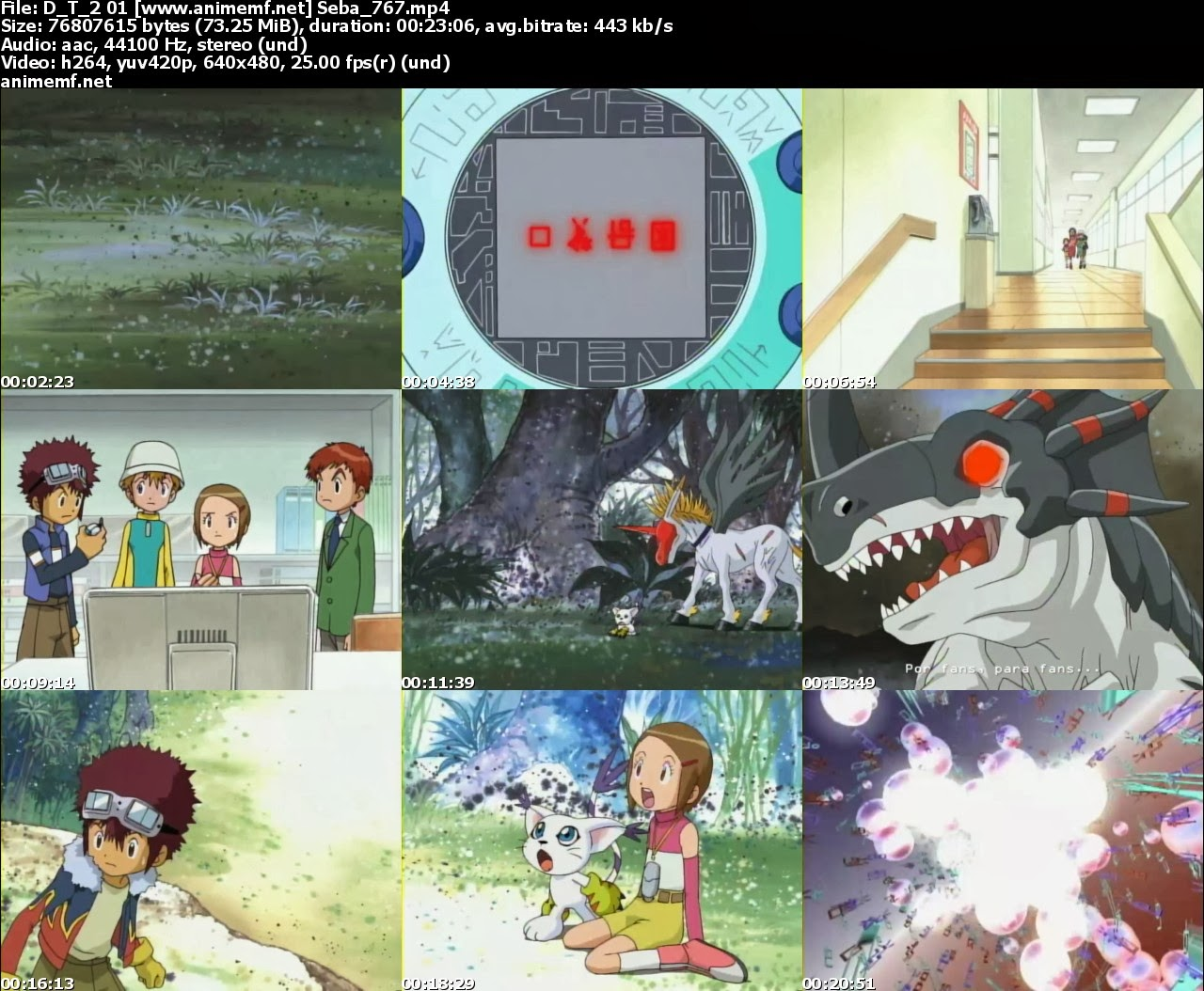 Descargar Digimon Adventures 2 50/50 MEGA