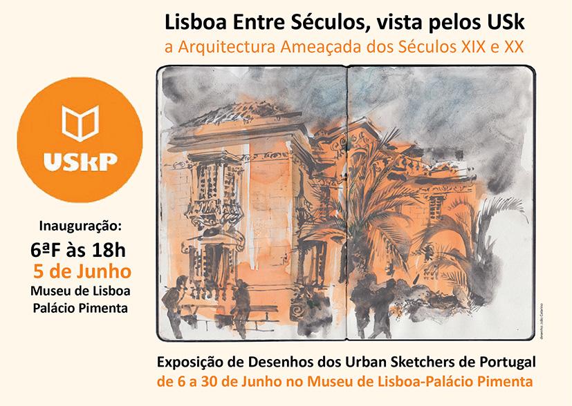 Expo USkP - Lisboa entre Séculos, vista pelos USk