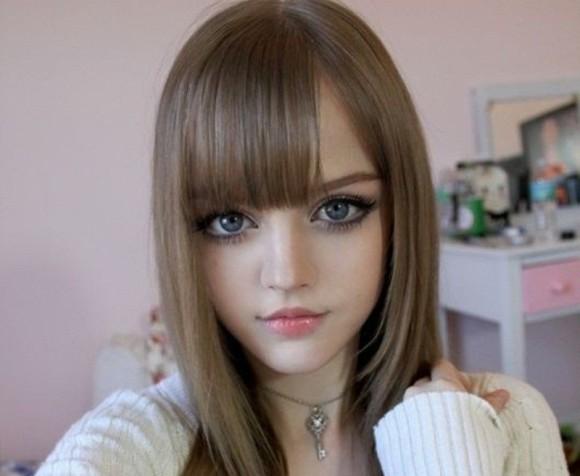 Как накраситься как кукла