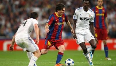 skor pertandingan real madrid vs barcelona