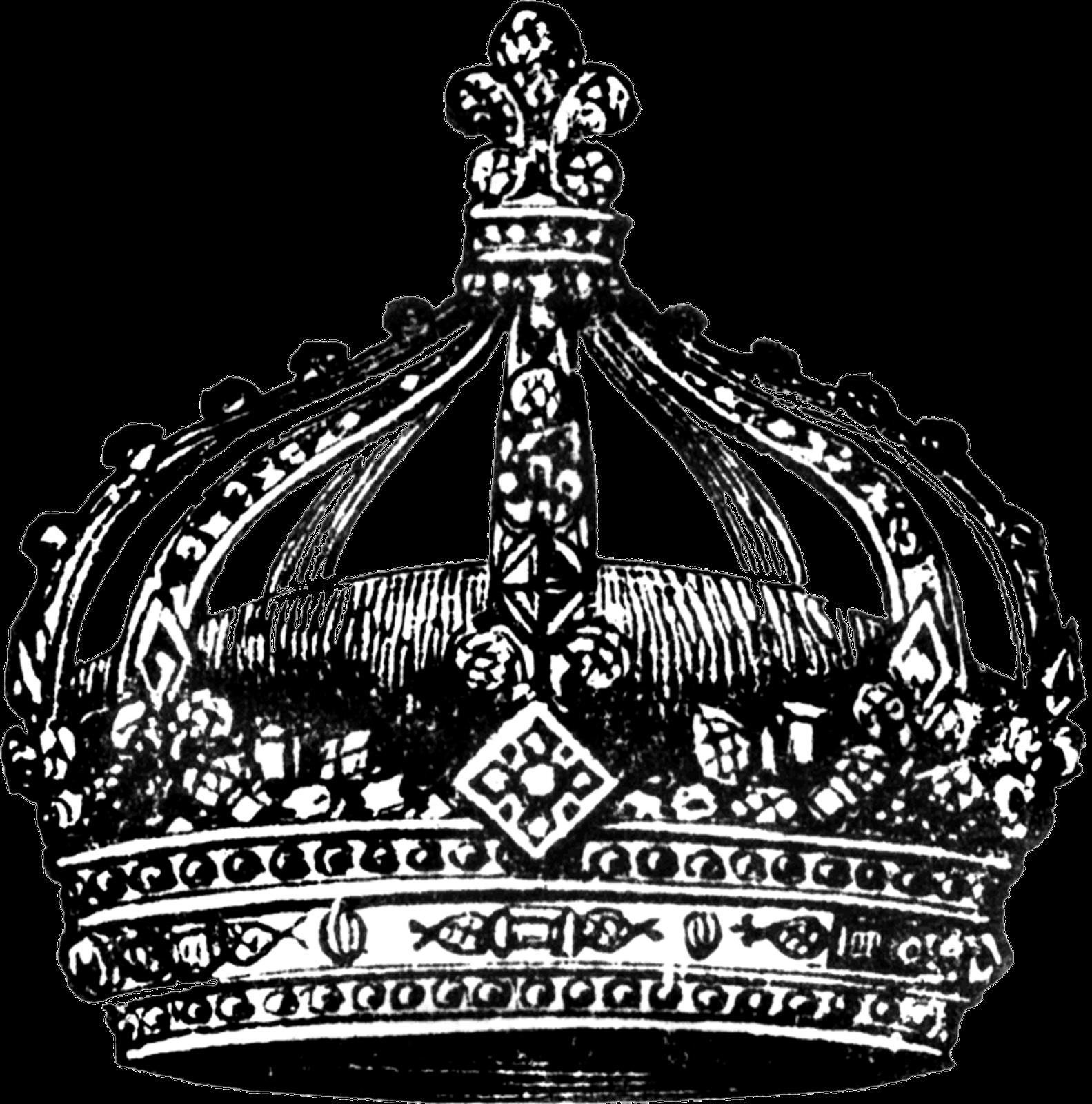 Black crown transparent background - photo#4