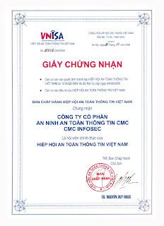CMC Infosec | VNISA | Hiep Hoi An Toan Thong Tin Viet Nam