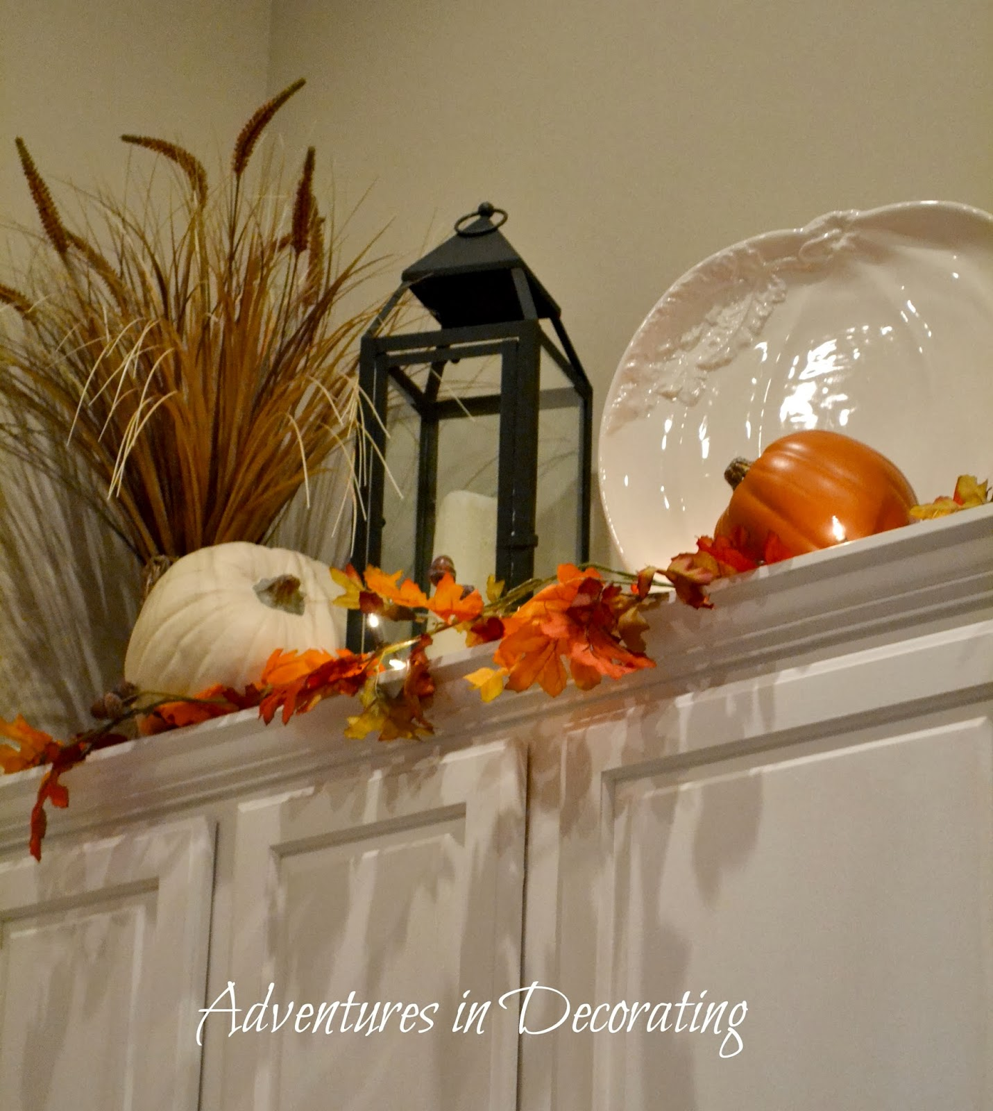Kitchen Decor For Fall: Adventures In Decorating: Our Fall Kitchen