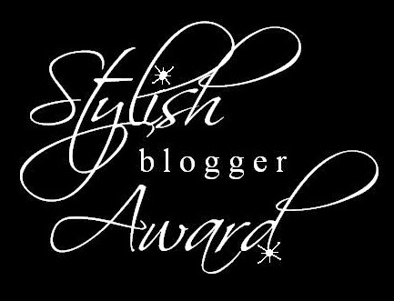 Stylish blogger Award