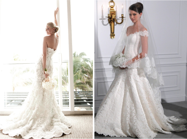 Lace Wedding Dress And Veil : Lovely wedding lace belle the magazine
