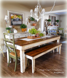 Provincial Farmhouse Tables