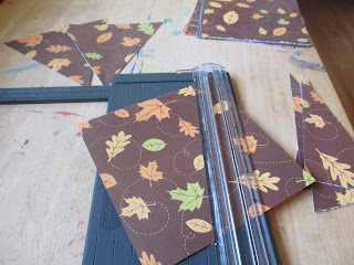 Thankful Banner Paper Trimming