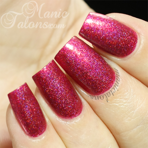 Glam Polish Bad Santa Swatch
