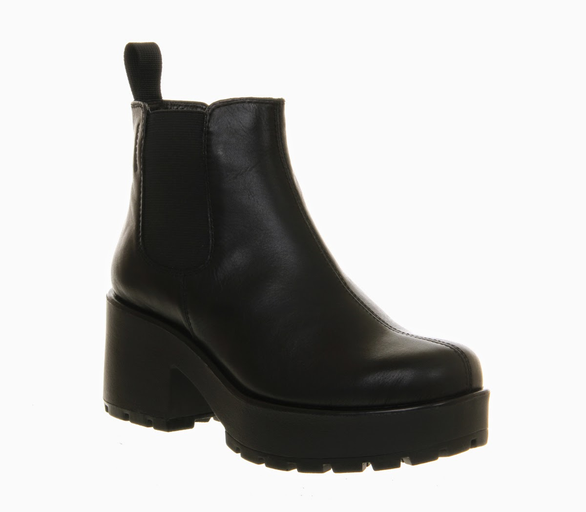 s vagabond dioon lace up boot black leather boots