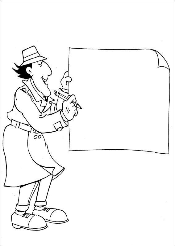 Dibujos Para Pintar y Colorear Gratis: Dibujos de Inspector Gadget ...