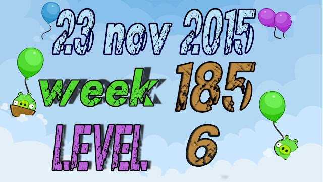 Angry Birds Friends Tournament level 6 Week 185