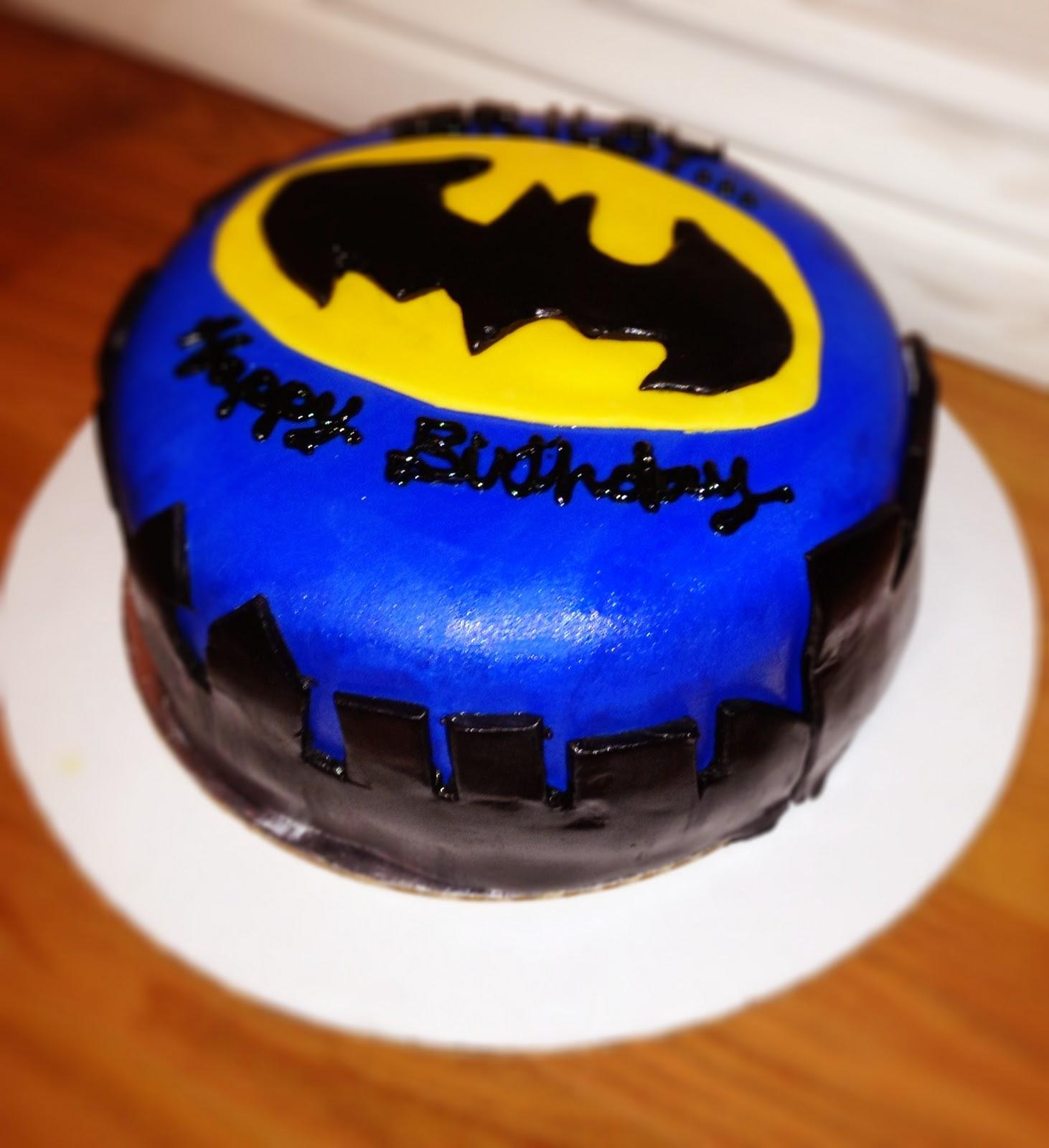 Batman Birthday Cakes ~