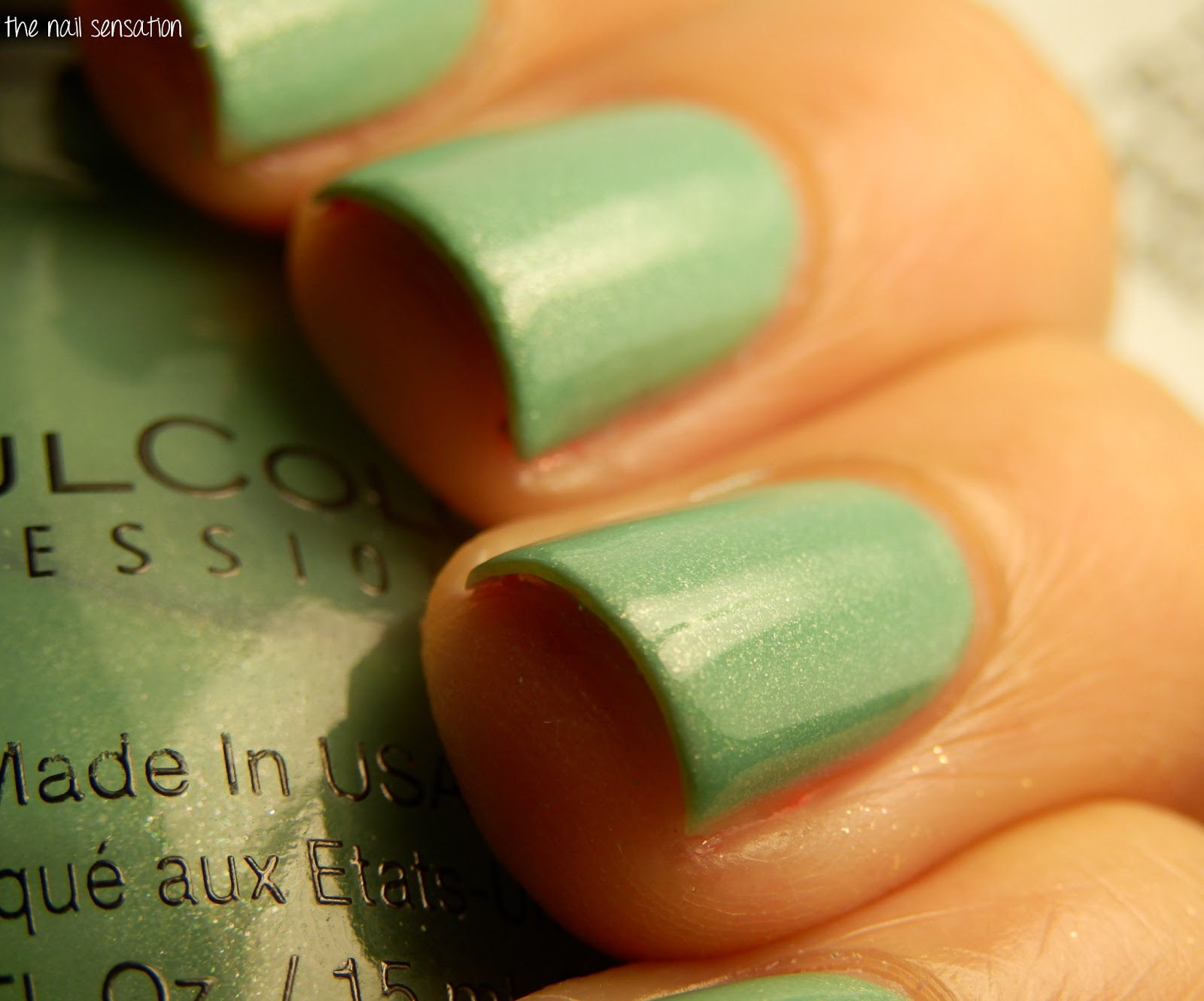 The nail sensation: Sinful Colors