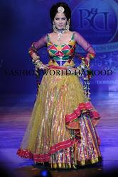 Bharat and Dorris Bridal Fashion Show 2012, indian bridal dress, lehanga choli design, sexy appealing hot indian bride, cute looking sizzling bride