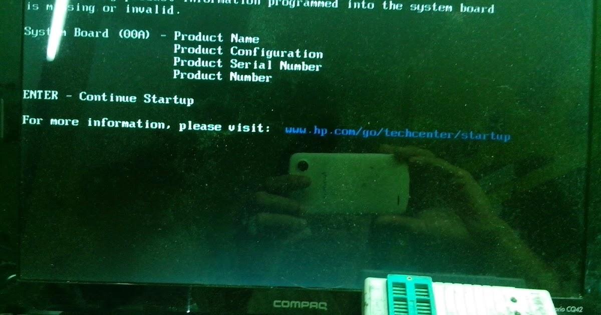 Teknisi Laptop IndonesiaCOm Memperbaiki Invalid Serial