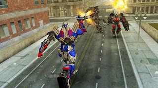 Screenshots of the Transformers: Age of extinction for Android tablet, phone.