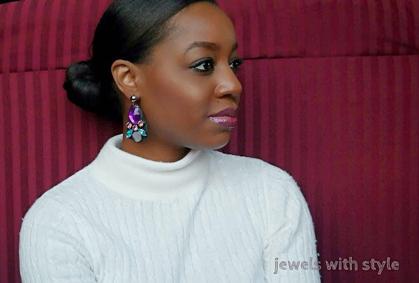 Monica Warren, M Renee Design, Jewels with Style, Black Fashion blogger, holiday party jewelry, statement jewelry, holiday jewelry, J Crrew look a like jewelry, J Crew like jewelry, shop small, small business Saturday, small business gift guide, holiday gift guide, Christmas gift guide